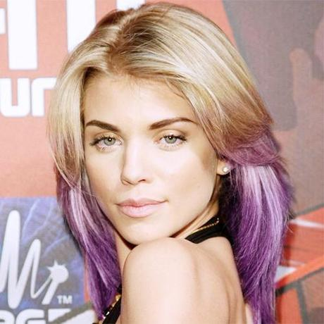 alm Celebrity Trend: Dip Dyed Ends