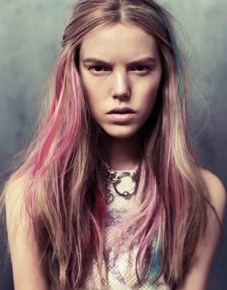 hair Celebrity Trend: Dip Dyed Ends