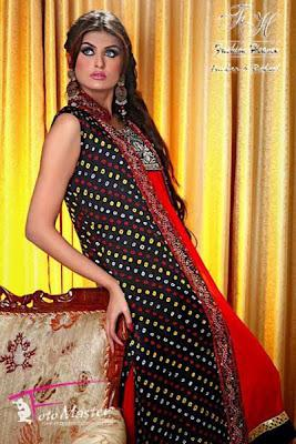White and red dresses pakistani 2018 simple ira