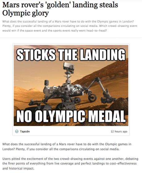 The magic of Mars on social media