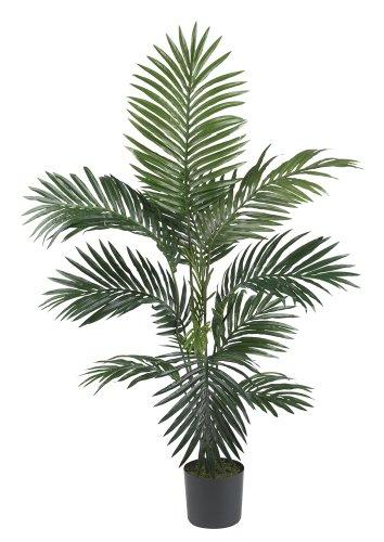 Nearly Natural 5295 4ft. Kentia Palm Silk Tree,Green