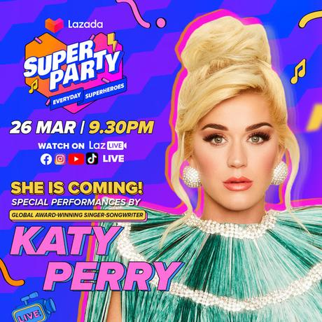 It's Official: Katy Perry and NCT Dream Will Headline Lazada's 9th Birthday Celebrations!