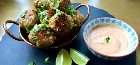 Sweet Chili Meatballs with Sesame Lime Sauce2 min read