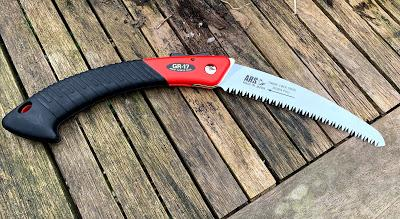 Product Review: ARS VS Rotating Handle Secateurs and GR17 Curved Folding Saw