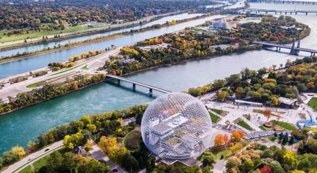Montreal aerial