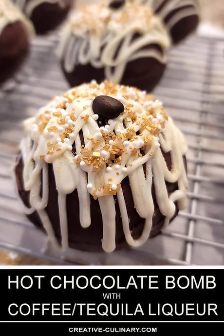 Boozy Hot Chocolate Bombs