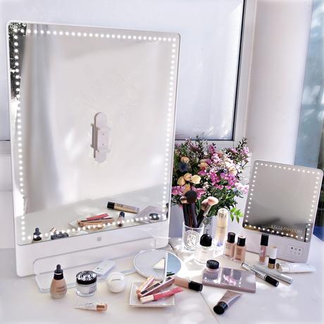 RIKILOVESRIKI by Glamcor | The Riki Tall LED Vanity Mirror (with comparisons)