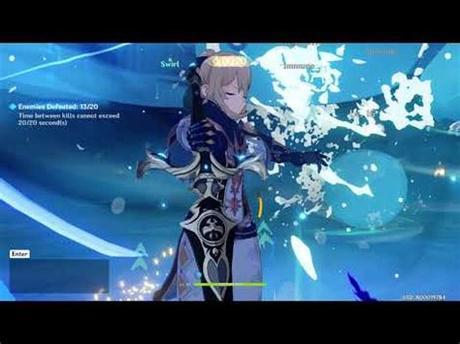 Genshin impact lisa gift : Genshin Impact Co-Op Q, Cecilia Garden - YouTube