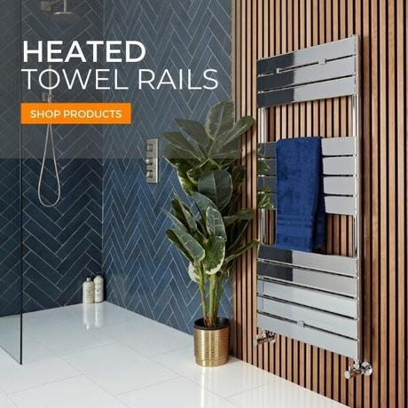 heated towel rails banner