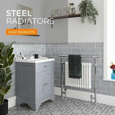 steel radiators banner