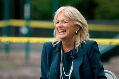 First Lady Dr. Jill Biden Visit Schools As Part Of COVID Relief Tour
