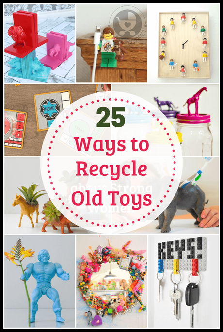 Don't know what to do with old toys? Here are 25 Ways to Recycle Toys this Global Recycling Day, so you get more use out of something you would have tossed!