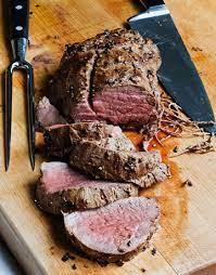 Serve the tenderloin with the board dressing or horseradish sauce, or both. Balsamic Roasted Beef Recipe Ina Garten S Recipe For Balsamic Roasted Beef
