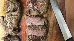 This recipe makes the best beef tenderloin in the oven and is super flavorful and tender. Ina Garten Beef Tenderloin Mustard