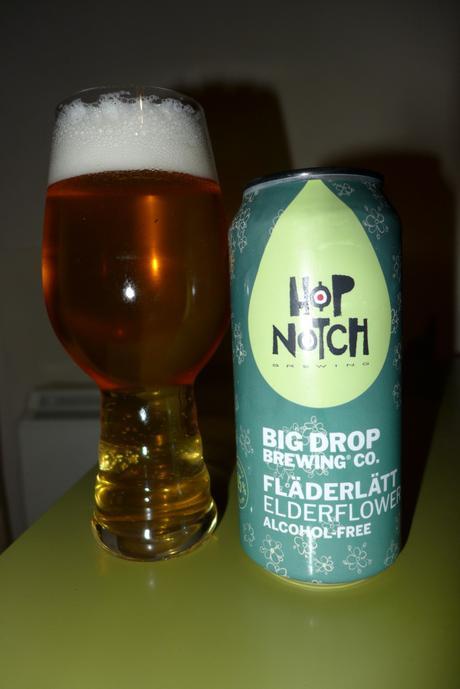 Tasting Notes: Big Drop: Hop Notch: Fläderlätt Elderflower
