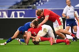Highlights from the france v wales friendly clash held at stade de france 24/10/2020. Afo1coldfnohjm