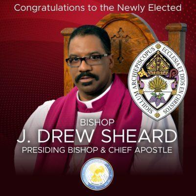 Bishop J. Drew Sheard Elected Presiding Bishop Of COGIC