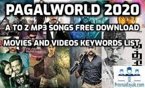 Recent posts this is the title of your first post. Pagalworld 2020 Download Latest Bollywood Tamil Telugu Mp3 Songs