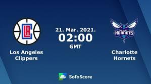 Read on below for a complete game recap of the clippers' win over the hornets. Los Angeles Clippers Charlotte Hornets Live Ticker Und Live Stream Sofascore