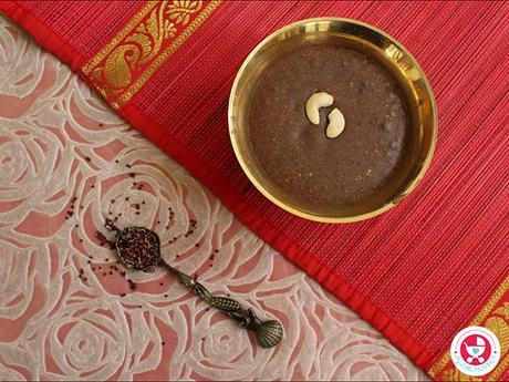 Ragi kheer for babies [ Finger-Millet Pudding| Ragi payasam]