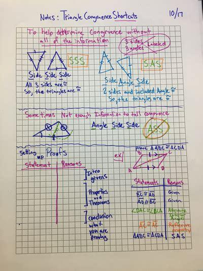 Given that dabc @ dxyz, identify and mark all of the congruent corresponding parts. Unit 2 Triangle Congruence - Math Sheaffer