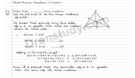 State a sequence of transformations that will map one triangle onto the other. Congruence of Triangles and Inequalities in a Triangle ...