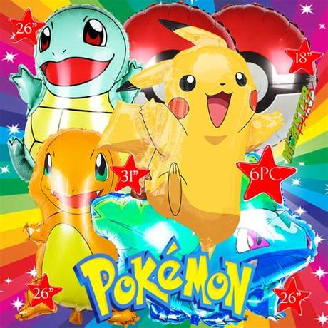 Learn how to install and successfully run pokemon go on your amazon fire tablet or kindle fire device. PIKACHU FOIL BALLOON POKEMON TABLE COVER BANNER GO LATEX ...