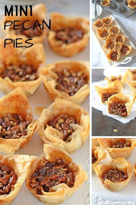 The 20 best ideas for phyllo dough dessert recipes. Mini pecan pie with phyllo dough | Recipe | Mini pecan ...