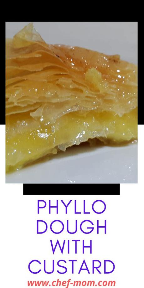 In a medium saucepan, add apples, sugar, vanilla, orange/lemon peel, cinnamon and cornstarch. phyllo dough with custard | Recipe in 2020 | Phyllo dough ...