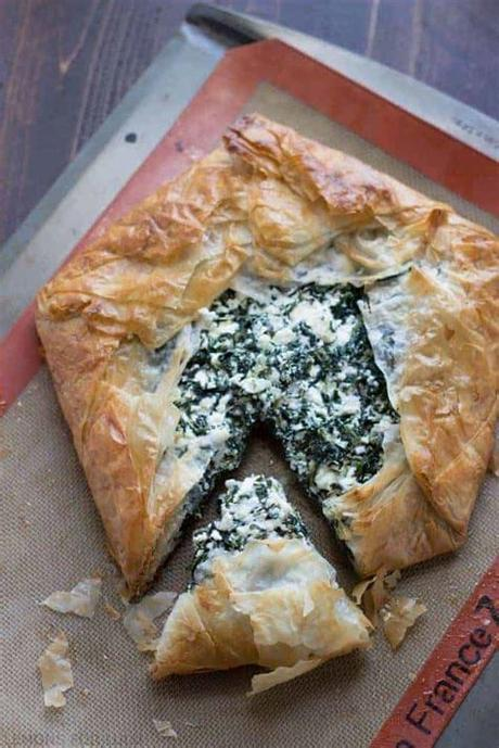 Take the package out of the fridge and set at room temperature for 30 minutes to 1 hour before use (see more in the recipe notes.) Spanakopita (Spinach & Feta In Phyllo) Recipe — Dishmaps
