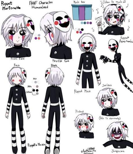Check out the first fnaf fanfic of mine and the sequel if you haven't. PUPPET MARIONETTE FNAF 2 HUMANISIERT VON ADRIKONEKO von ...