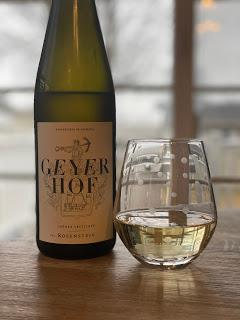 Geyerhof Gruner Veltliner Delivers Excitement