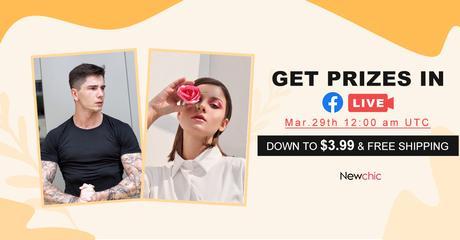 Newchic Spring Summer Sale Live Stream 2021