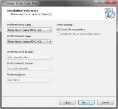 Codecs and directshow filters are needed for encoding and decoding audio and video formats. K Lite Codec Pack 12 05 Standard 32 64 Bit Herunterladen Download Codecs