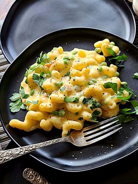 Sweet Peas Mac and Cheese