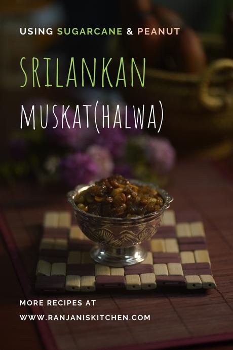 srilankan muskat(halwa) recipe | sweets