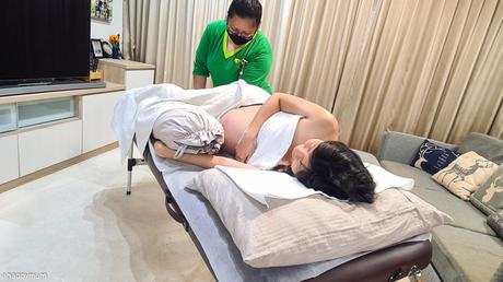 Every mum deserves it {Review of Postnatal Massage Singapore}
