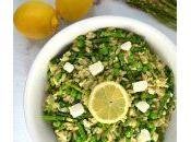 Spring Orzo Salad with Asparagus Peas