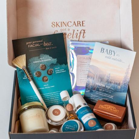 Mother's Day Gift Ideas: The Beauty Cloud's Facial in a Box