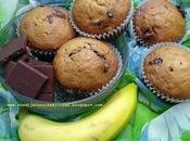 Muffins Banane Chocolat Banana Chocolate Magdalenas مافن الموز الشوكولاطة