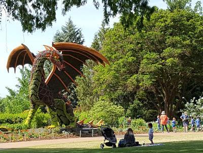 IMAGINARY WORLDS at the Atlanta Botanical Garden by Caroline Arnold at The Intrepid Tourist