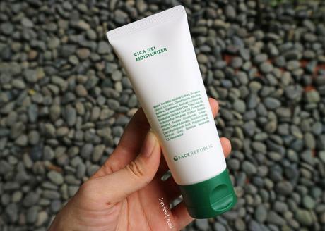 Best Moisturizer for Acne Prone Skin - Face Republic Cica Gel Moisturizer