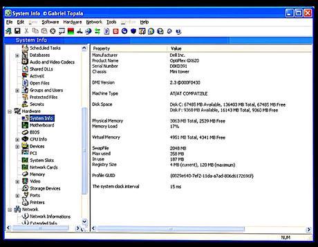 SIW: cpu temperature monitor