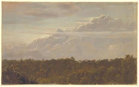 Inspirational art: Drawing, Thunderheads, Jamaica – Frederic Edwin Church