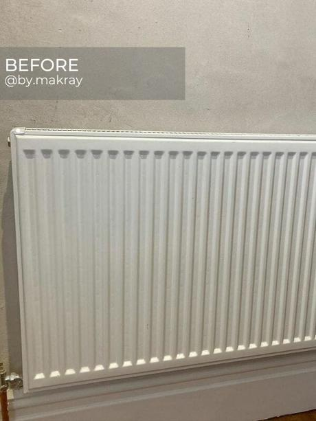 old central heating radiator