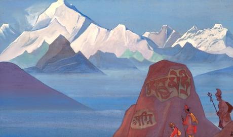 Inspirational art: Path to Kailas – Nicholas Roerich