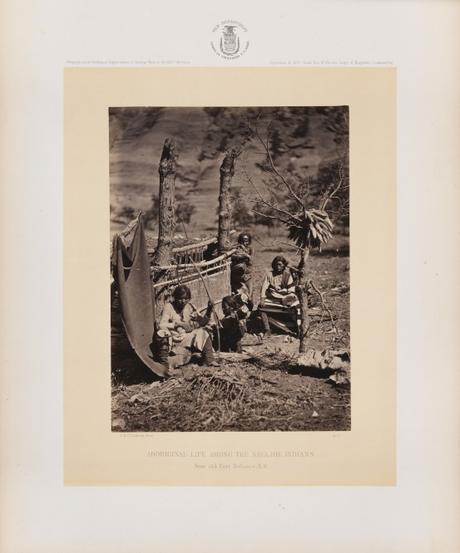 Early photography: Aboriginal Life Among the Navajo Indians – William Abraham Bell & Timothy H. O'Sullivan