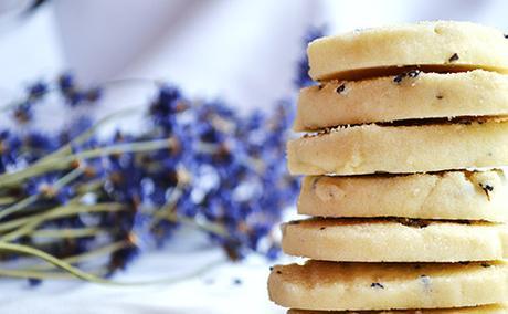Gram's Dee-Lightful Lavender Cookies