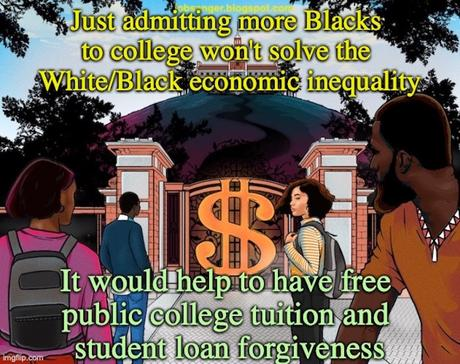 College Alone Will Not Solve The Racial Wealth Gap