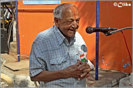 the grand wise oldman  bids adieu at 104 !! Triplicane is sad !!!